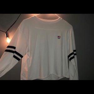 white usa sweatshirt